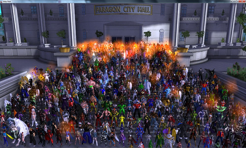 City of Heroes Protest
