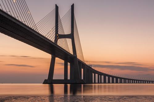 Tall Bridge by Dawn
