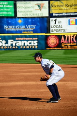 Tyler Austin Playing First Base