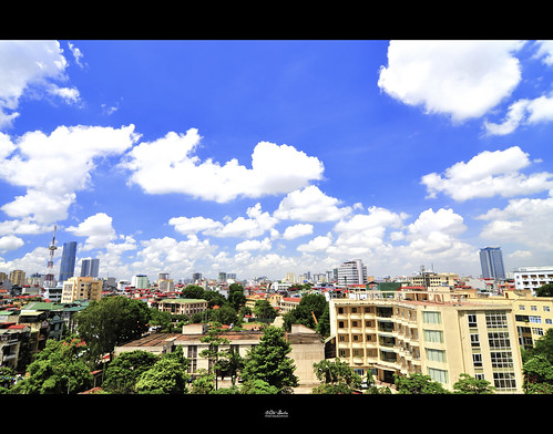 city blue sky view tokina hdr 1116
