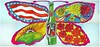 7Up_Butterfly & Bottle_21'x10' vintage UnCola billboard poster by Pat Dypold, 1969