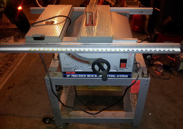Ryobi 10 precision benchtop cutting system table saw for 10 inch ryobi table saw