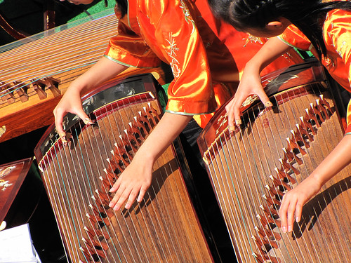 Chinese Musicians on Zheng