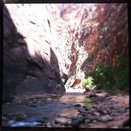 The Narrows. #trillmagic