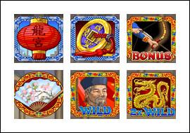 free House of Dragons slot game symbols