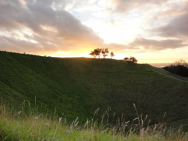Crater at Mt Eden by Jessica Moros
