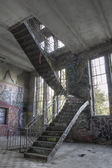 Treppe im Maschinenhaus