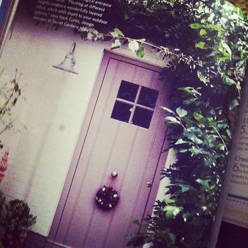 From october h&g mag. Loving the light and door