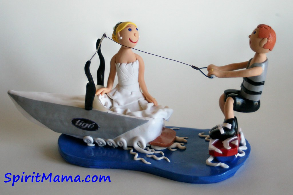 water ski wedding cake topper wakeboard wedding cake topper a photo on flickriver 21682