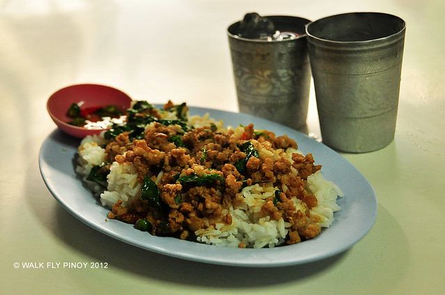 Pad Kra Pow (Stir-fried Ground Meat with Thai Basil), Thai Food, Thailand