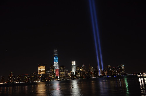nikon d5100 night photography: the 11th anniversary of 9/11 (unedited) ------- viewed 901x