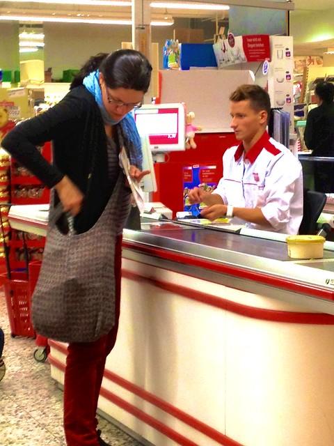 cashier boy