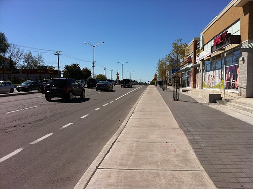 The one block Baseline bike lane