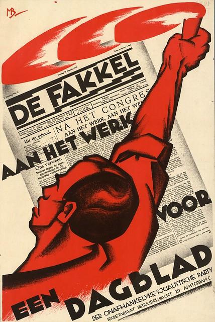 Meijer Bleekrode, Cornelis Rose. De Fakkel daily. 1932