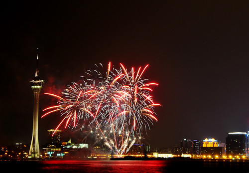 24th Macau International Fireworks Display Contest (Australia firework)... 澳門國際煙花比賽匯演(澳洲隊煙花)