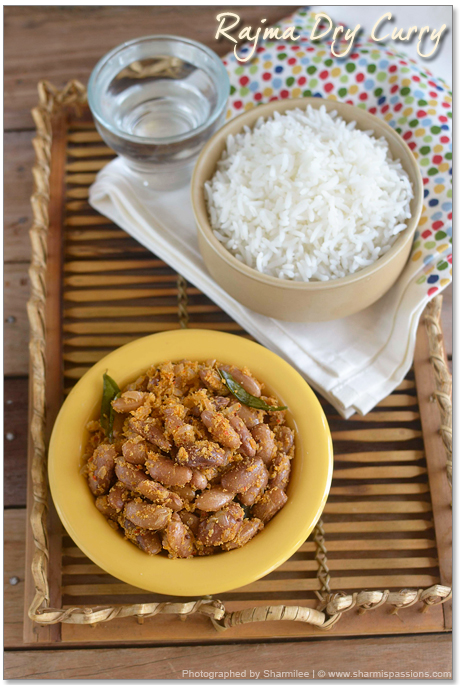 Rajma Dry Curry Recipe
