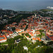 Aerial View of Old Town in Tallinn