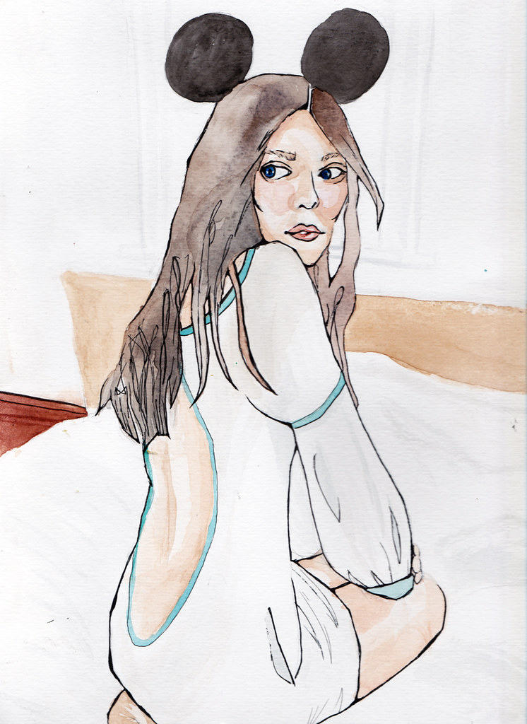 Watercolors: Portraits and fashion