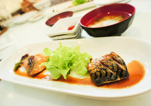 Japanese's marinated fish