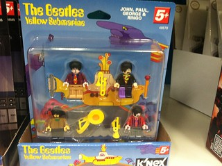 Beatles Faux Minifigs