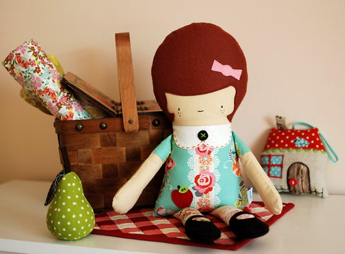 Greta doll by Retro Mama