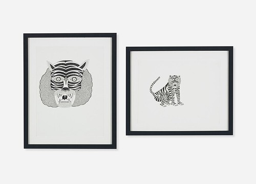 Matt Leines, Untitled (Two Works), 2009, Lot 285
