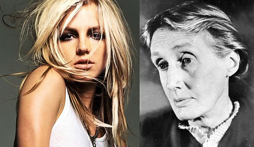 Britney Spears and Virginia Woolf