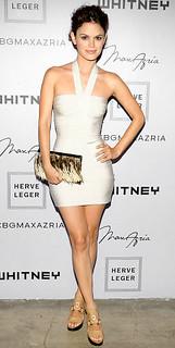Rachel Bilson Bandage Dress Herve Leger Celebrity Style Women's Fashion