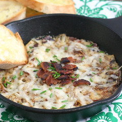 Caramelized Onion, Gruyere and Bacon Spread