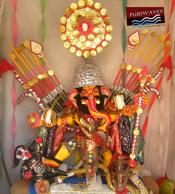 Lord Ganesha as an warrior Costumes  ( Naga )