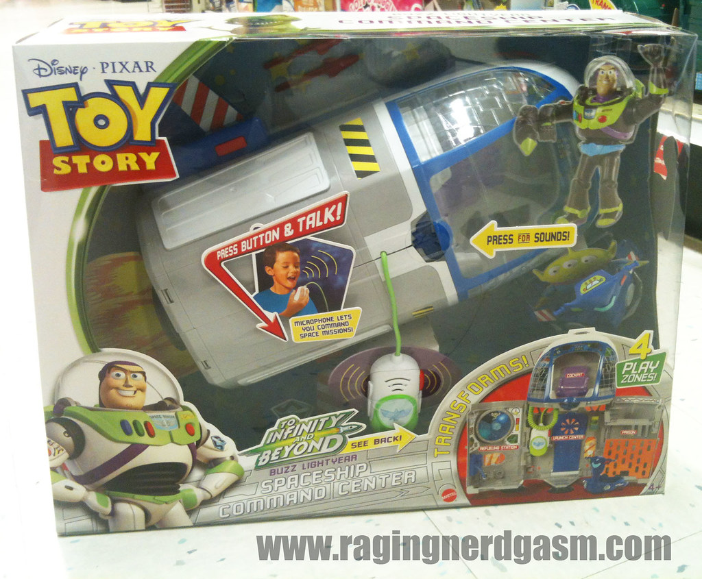 Dysney's Toy Story  To Infinity And Beyond Spaceship Command Center Play Set001