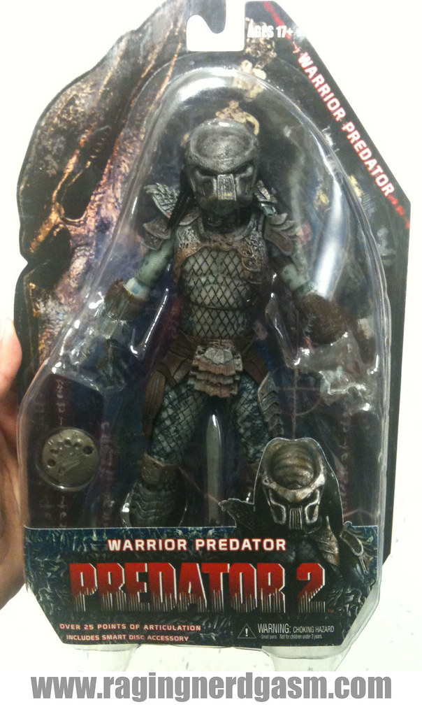 NECA Predator 2 Action Figures Warrior Predator 002