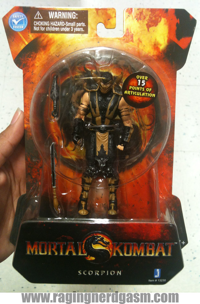 Mortal Kombat Action figures by Jazwares Scorpion 011