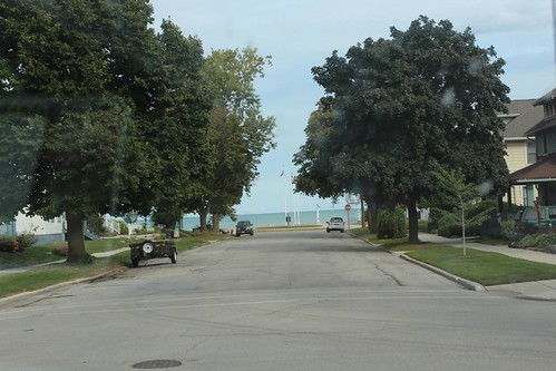 Day 49: Off to Sheboygan for a glimpse of Lake Michigan.