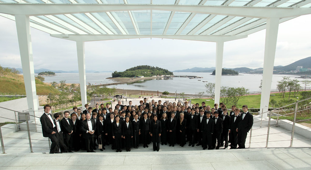 Empire State Youth Orchestra at the Yeosu Expo Concert Hall in South Korea
