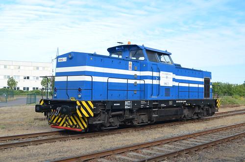 Lok 1 Magdeburger Hafenbahn