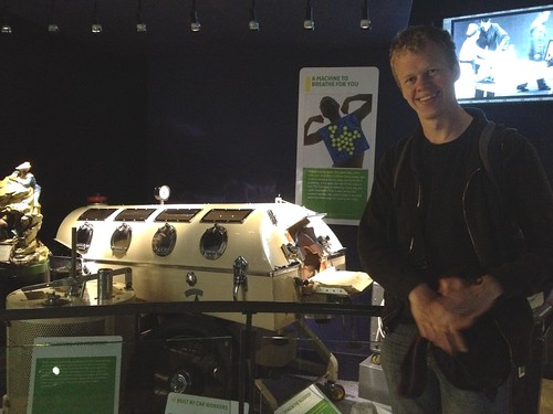 The Man With His Iron Lung