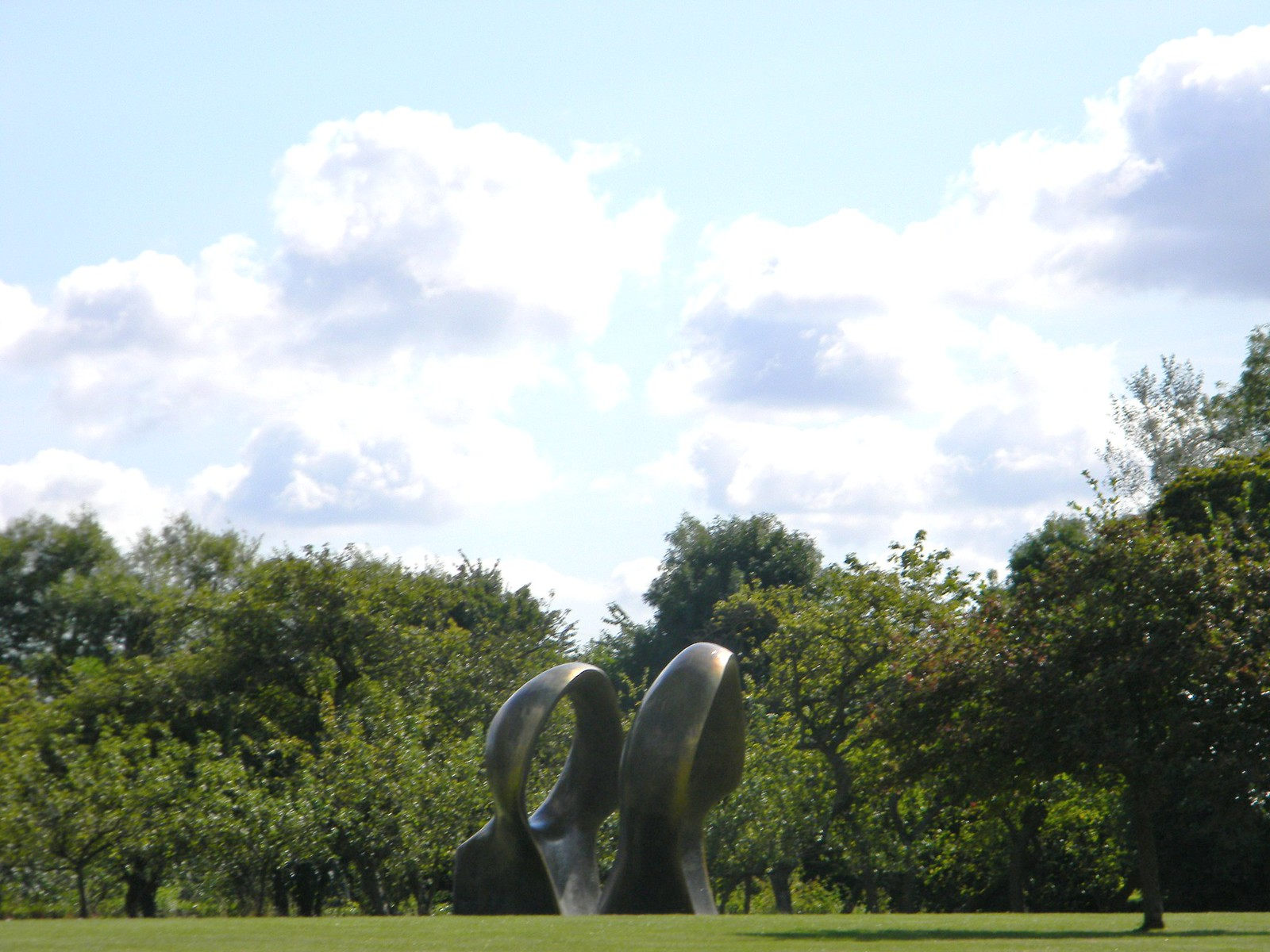 Sculpture Henry Moore Sculpture Park Roydon to Sawbridgeworth