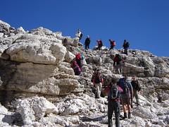 Aufstieg zum Pisciadu