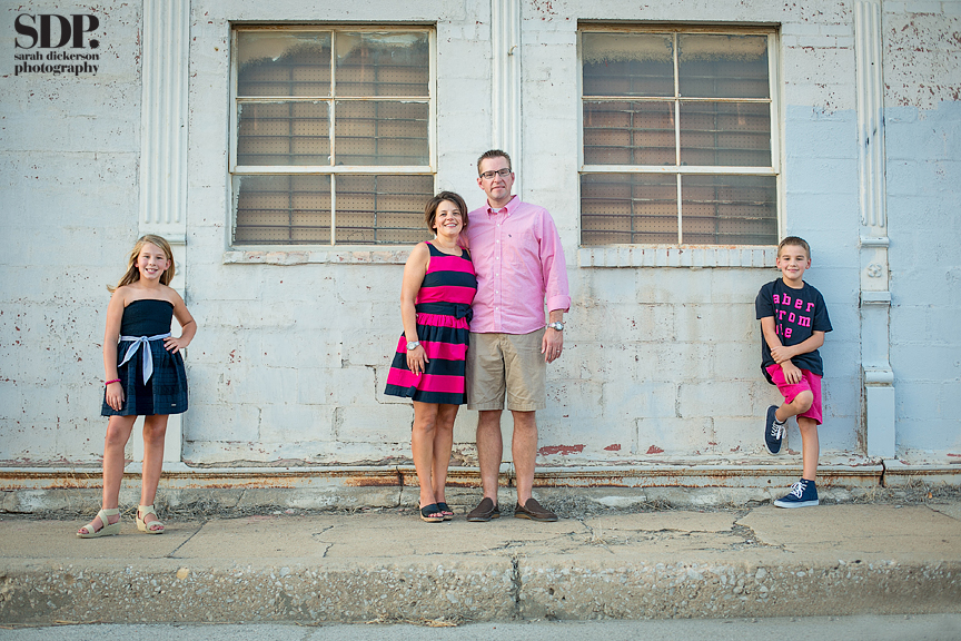 Kansas City west bottoms family portraits