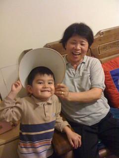 小米和阿媽