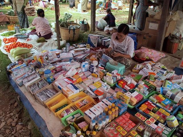 Pharmacy at the market