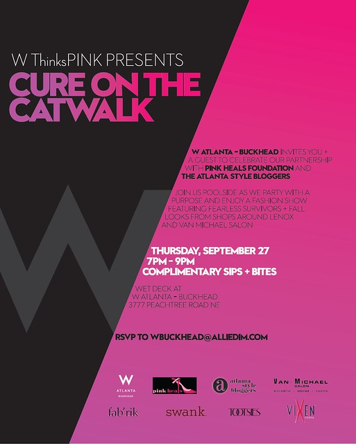 W ThinksPINK - Cure on the Catwalk