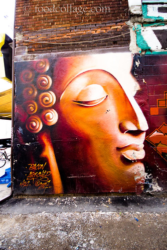 Wall Art in Kensington Market (Toronto)