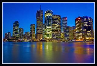 Brisbane Riverside at Dusk-02=