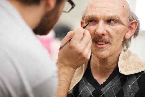 Photo:VFS Makeup Design Helps Age Host of Finding Stuff Out By:vancouverfilmschool