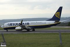 EI-DWX - 33630 - Ryanair - Boeing 737-8AS - 120812 - Bristol - Steven Gray - IMG_1494
