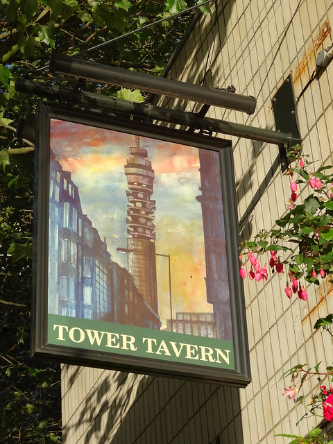 Tower Tavern Sign