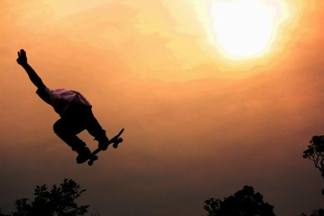 Nasty SK8 Sunset