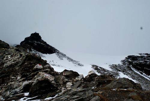 richtung hocharn und gletscher